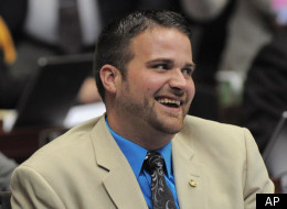 This April 25, 2012, photo provided by Missouri House Communications shows Missouri Rep. Zachary Wyatt, R-Novinger. The Republican Missouri House member announced Wednesday, May 2, that he's gay and is calling on GOP leaders to end legislation that would limit discussion of sexual orientation in public schools. (AP Photo/Missouri House Communications)
