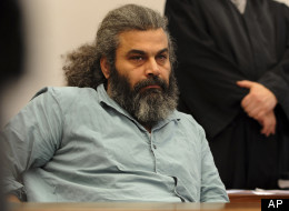 Defendant Khaled el-Masri waits for the verdict in a courtroom of the court in Memmingen, southern Germany, on Tuesday, March 30, 2010. (AP Photo/dapd, Felix Kaestle)