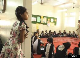 Film still of Nanhi Kali class for The Girl Epidemic (Photo courtesy of Indira).