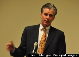 Michigan's Treasurer Andy Dillon and others in state agencies announced Wednesday, May 16 2012 that the state had under-projected revenue in January and would see an additional $300 million at the end of the current fiscal year.
