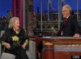 David Letterman and Betty White discuss the effects of aging