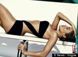 Jennifer Lopez posa en bikini para la nueva Vogue