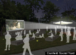 The Canfield Social Yard is one of the projects in the Let's Save Michigan