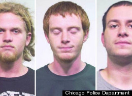Brent Betterly, Brian Church and Jared Chase have been charged in an alleged NATO summit terror plot.