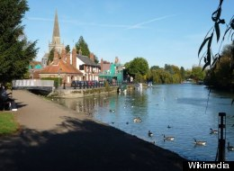 The accident happened at the River Thames in Abingdon
