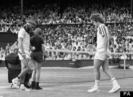 Borg and McEnroe swap sides