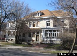 The former home of Bobby Franks at 5052 S. Ellis Street.