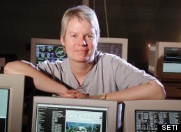 Jill Tarter, SETI director.