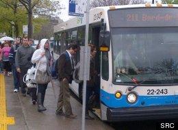 Un autobus de la STM (SRC)