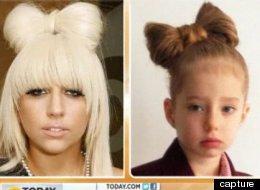 Marcella Marina et son idole Lady Gaga.