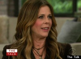 Rita Wilson told 'The Talk' about the moment she knew Tom Hanks was the man for her.
