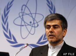 Fereidoun Abbasi Davani, Iran's Vice President and Head of Atomic Energy Organization speaks during a news conference at the general conference of the International Atomic Energy Agency, IAEA, at the International Center in Vienna, Austria, Monday, Sept. 19, 2011. (AP Photo/Ronald Zak)