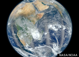 'Great Dying' extinction affected entire Earth. This 'blue marble' photo from NASA's Suomi NPP satellite shows the Eastern Hemisphere.