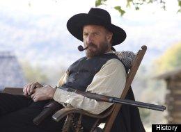 Kevin Costner stars as Devil Anse Hatfield in
