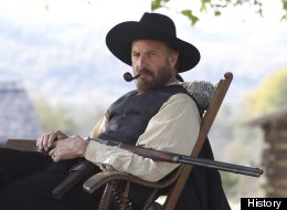 Kevin Costner stars as Devil Anse Hatfield in