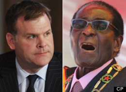 Canada is withdrawing from a United Nations body over the appointment of Robert Mugabe as a special tourism ambassador, according to Foreign Affairs Minister John Baird. (CP)