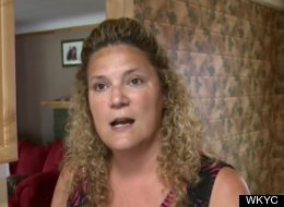 Sherry Bush, above, said a woman broke into her house to clean it and left a bill for her services.