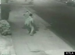 Two men in their mid-20s were stabbed last Thursday in Echo Park in what may have been a gay hate crime; the incident was caught on camera.