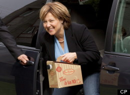 B.C. Premier Christy Clark pulled in one of the country's lowest approval ratings, according to a poll. (CP)