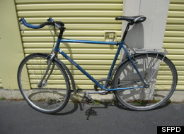 One Of The 114 Stolen Bikes Uncovered By SFPD