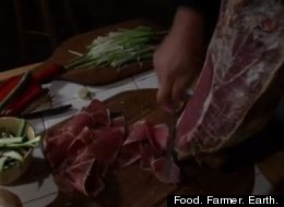Food. Farmer. Earth.
