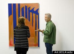 A scene from UCLA Art Graduate Open Studio in December 2011 (art.ucla.edu).