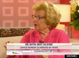 Dr. Ruth commented on the