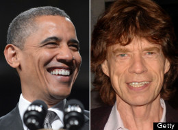 Rumor has it that Obama has quite the Mick Jagger impression.
