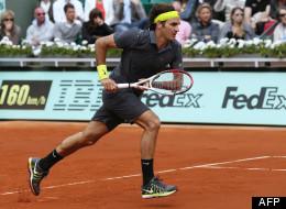 Roger Federer à Roland-Garros, le 3 juin 2012