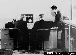Computer scientist Alan Turing (right) committed suicide on June 7, 1954 by eating a poisoned apple.