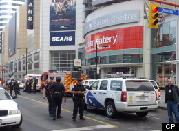 Connor Stevenson, 13, of Port Hope, Ont., had been enjoying an afternoon going to a movie with his mom and older sister when they got caught up in the bloody food-court mayhem at the Eaton Centre. (THE CANADIAN PRESS/Victor Biro)