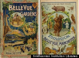 An 1895 guidebook from the Belle Vue Zoological Gardens in England.