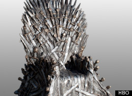 HBO's life-sized replica of the Iron Throne
