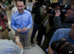 Wisconsin Gov. Scott Walker's recall contest is expected to bring major voter turnout. Not so Tuesday's other elections.
