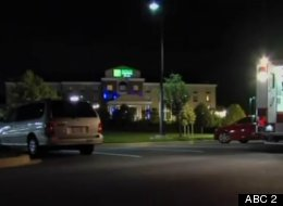 Five men were arrested for allegedly building a meth lab in this Holiday Inn.