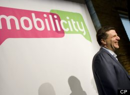 John Bitove, the executive chairman of new wireless player Mobilicity, wants more Canadian apps developed for smartphones. (Peter Power / The Globe and Mail)