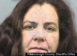 Idalmis De Armas had a unique method of dealing with her marital issues -- she allegedly lit her husband on fire with nail polish remover in their Tampa home.