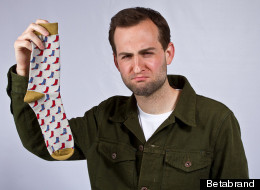 If you lose a sock, Betabrand will replace it -- all you have to do is upload a photo of the remaining one.