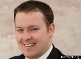 Bismarck City Commissioner Josh Askvig is an opponent of Measure 2