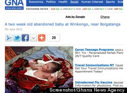 Screenshot/Ghana News Agency