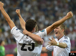 Gomez goal secures German victory over Portugal