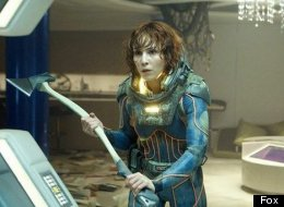 This gruesome scene in 'Prometheus' with Noomi Rapace allegedly caused a seizure in one Australian teen.