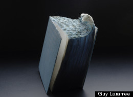 Montreal artist Guy Laramee has a new book landscape series out
