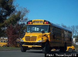 Police say two 14-year-old boys demolished 31 school buses.