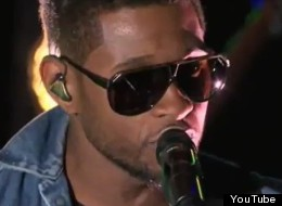 Usher covers Foster the People's