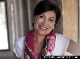 Dora Arias, una sobreviviente de cáncer de seno.