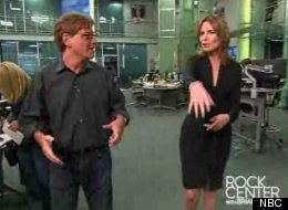 Aaron Sorkin explained his writing style's execution and origin to Savannah Guthrie.