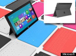 The Microsoft Surface and Touch Cover