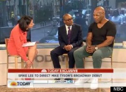 Mike Tyson and Spike Lee appeared on the 'Today Show' to discuss their upcoming production of Tysons one-man show 'Undisputed Truth.'