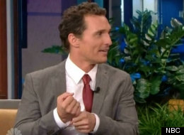 Matthew McConaughey talks weird wedding gifts on